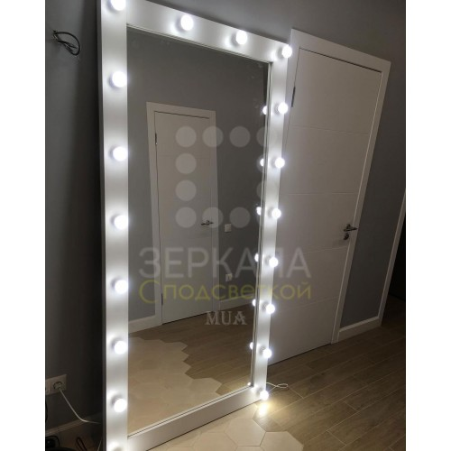 Гримерное зеркало с подсветкой 200х100