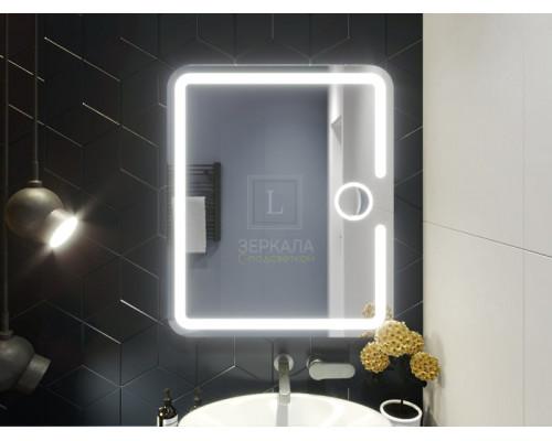Зеркало в ванну комнату с подсветкой Баролло