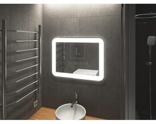 Зеркало в ванну комнату с подсветкой Кампли