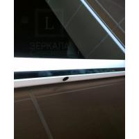 Зеркало для ванной комнаты с LED подсветкой Равенна